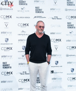 Liam Cunningham Amber Lounge 2017