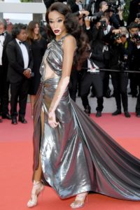 Winnie-Harlow-SIlver-Dress-Cannes-SS