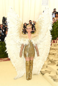 NEW YORK, NY - MAY 07: Katy Perry attends the Heavenly Bodies: Fashion & The Catholic Imagination Costume Institute Gala at The Metropolitan Museum of Art on May 7, 2018 in New York City. (Photo by Jamie McCarthy/Getty Images)