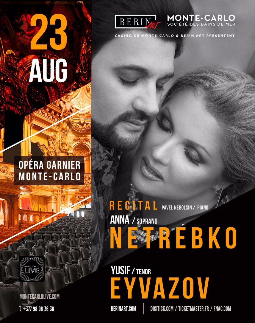 Anna Netrebko & Yusif Eyvazov RECITAL – City Life