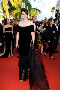 Maria Grazhyna Chaplin, red carpet, Cannes