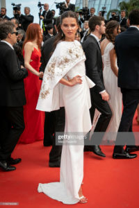 "CANNES, FRANCE - MAY 21: Model Anna Andres attends the screening of ""Once Upon A Time In Hollywood"" during the 72nd annual Cannes Film Festival on May 21, 2019 in Cannes, France. (Photo by Marc Piasecki/FilmMagic)"