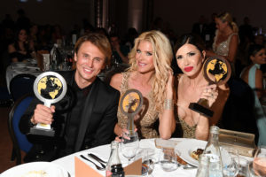 Jonathan Cheban, Victoria Silvstedt (Photo by Daniele Venturelli/Getty Images)