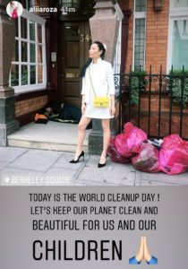 world bloggers awards, world cleanup day, wba, aliia roza