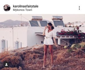 Karolina Fairytale at Mykonos