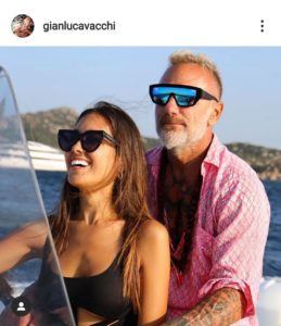 gianluca vacchi, sharon fonseca, world bloggers awards