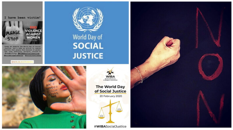 200 Influencers Joined The World Day of Social Justice