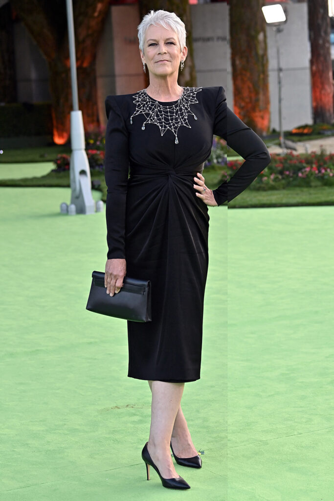 Mandatory Credit: Photo by Rob Latour/Shutterstock (12463345p) Jamie Lee Curtis The Academy Museum of Motion Pictures Opening Gala, Arrivals, Los Angeles, California, USA - 25 Sep 2021