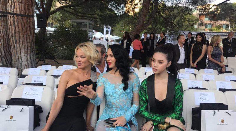 Pamela Anderson, Marina Slobodyanik, Julien Kang, Jolie Nguyen, Miss Vietnam