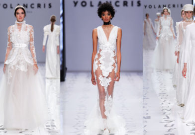 Kardashians designer Yolancris headlines the Amber Lounge chsrity fashion show.