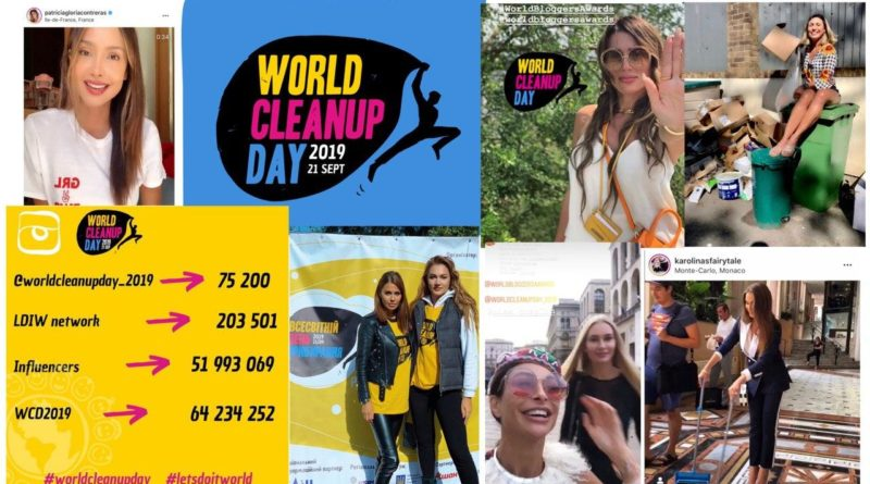 world bloggers awards, world cleanup day, wba, victoria bonya, maria grazhina chaplin, erika santos