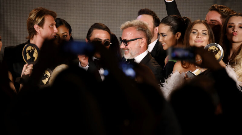 CANNES, FRANCE - MAY 24: Gianluca Vacchi attends the Inaugural 'World Bloggers Awards' during the 72nd annual Cannes Film Festival on May 22, 2019 in Cannes, France. The 'World Bloggers Awards' is the world's first ever awarding ceremony for the best bloggers across 22 nominations. It unites and celebrates influencers and opinion leaders from around the world in various fields, taking their social input to the higher level. (Photo by John Phillips/Getty Images for World Bloggers Awards)